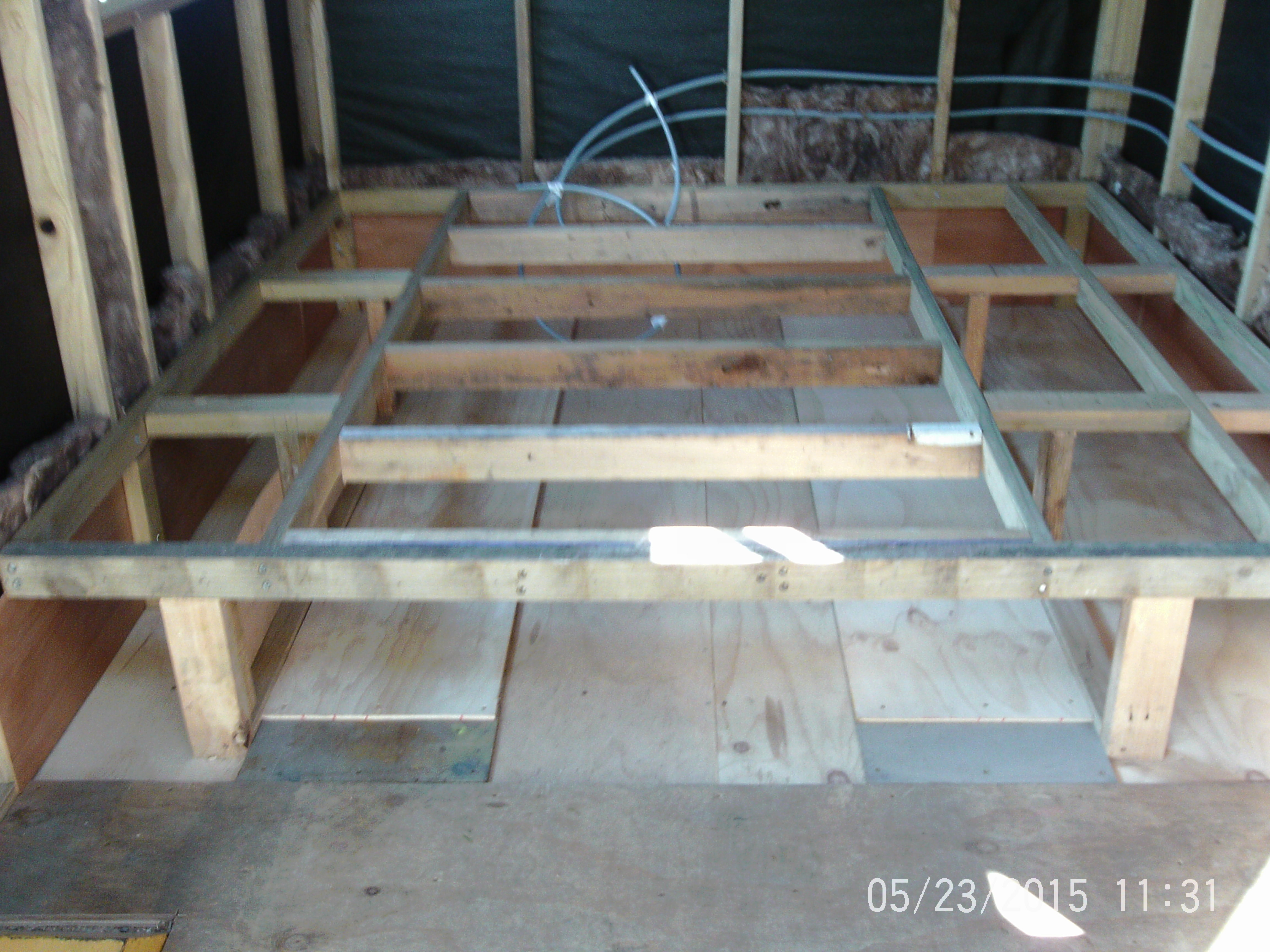 Underfloor Bed Storage South Island Tiny House Chch Nz